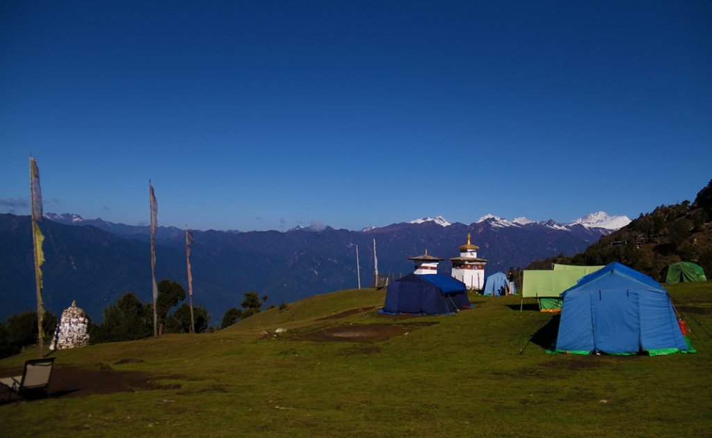 Bumdra trekking camp site