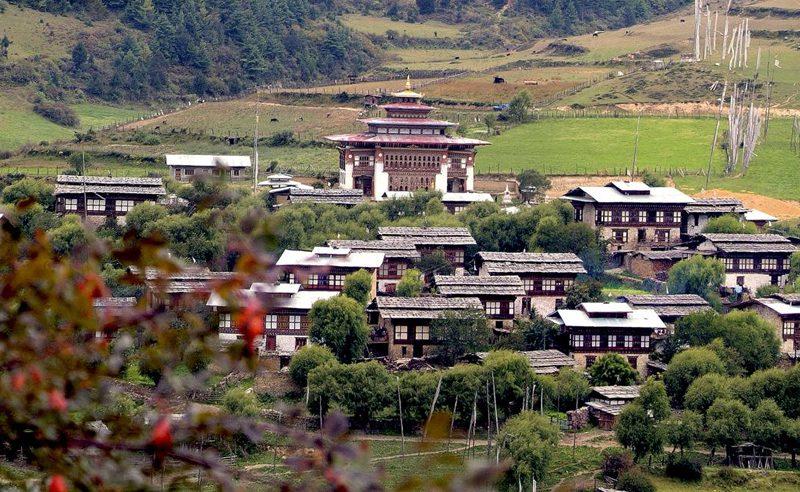 Bumthang-village-bhutan