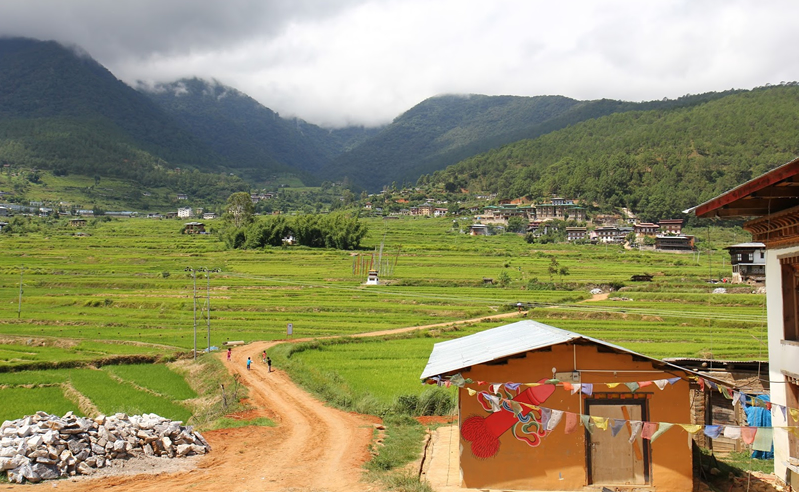 Chimi Lhakhang short hike