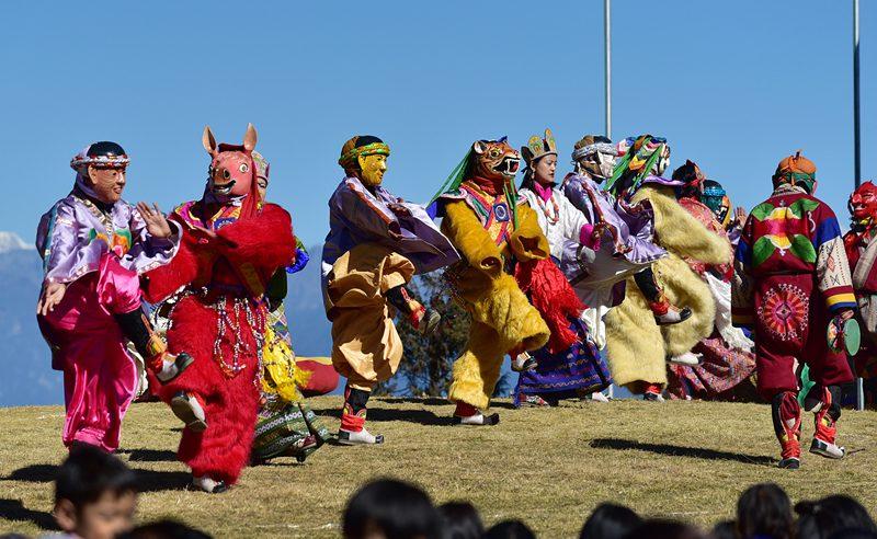 Druk Wangyel Tshechu Festival Tour Bhutan
