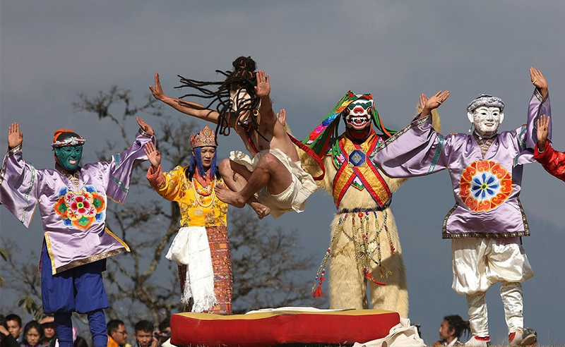 Druk Wangyel Tshechu Festival Tour