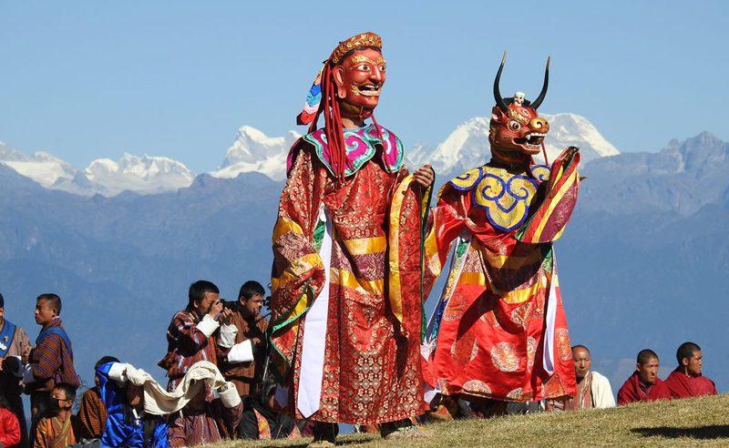 Druk Wangyel Tshechu Festival Tour1