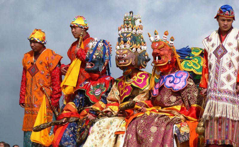 Druk Wangyel Tshechu Festival