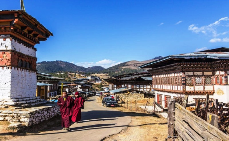 Gangtey_Village,_Gangtey