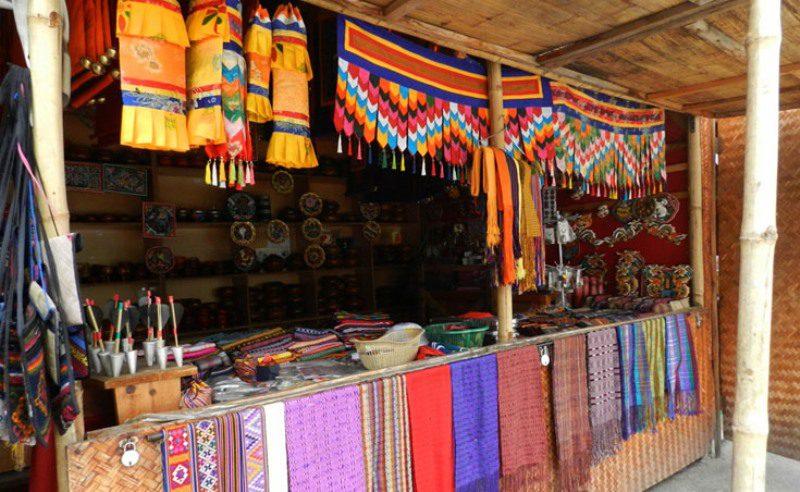 Handicraft_Market,_Thimphu