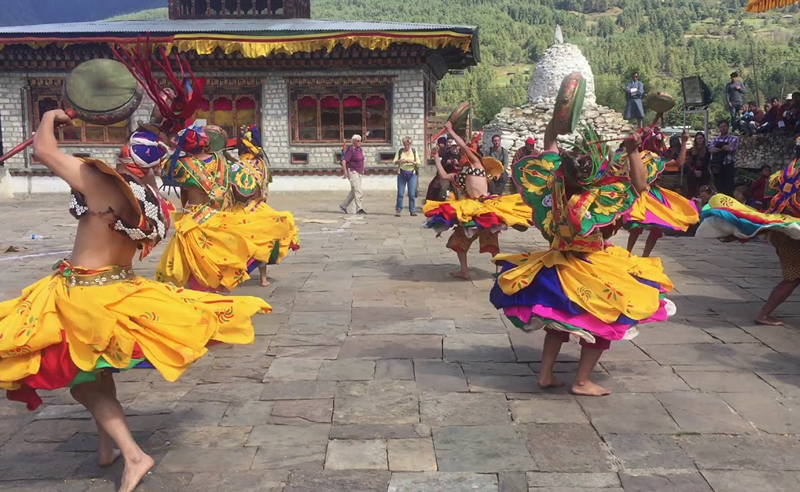 Jambay Lhakhang Festival1