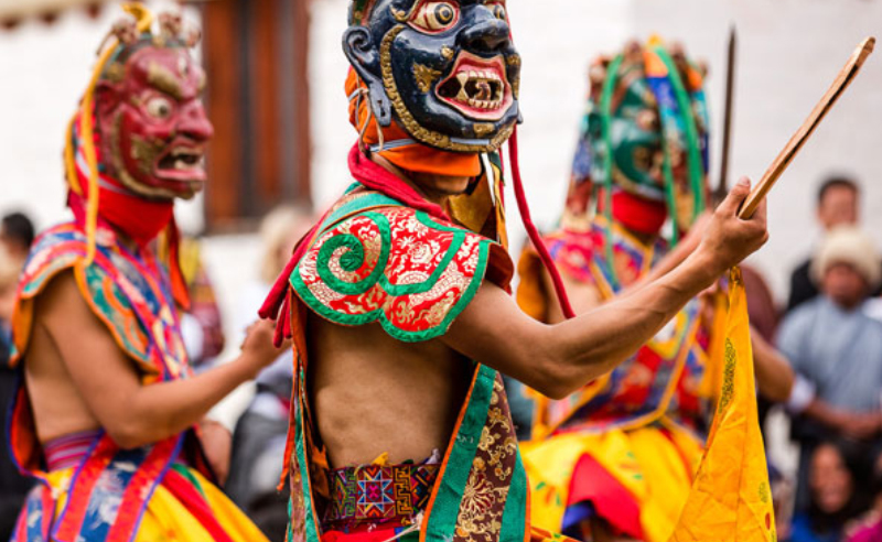 Jambay Lhakhang Festival3