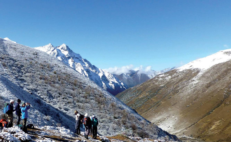 Jangothang Bhutan trekking
