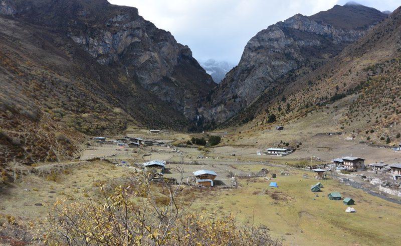 Jomolhari Trek Village Bhutan