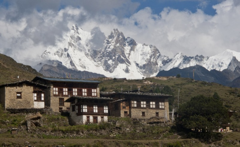 Laya_Village,_Western_Bhutan