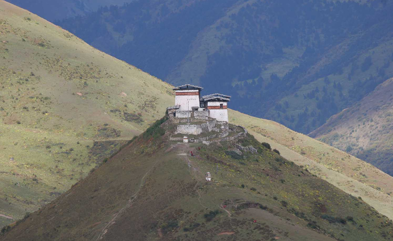Linzhi-Dzong