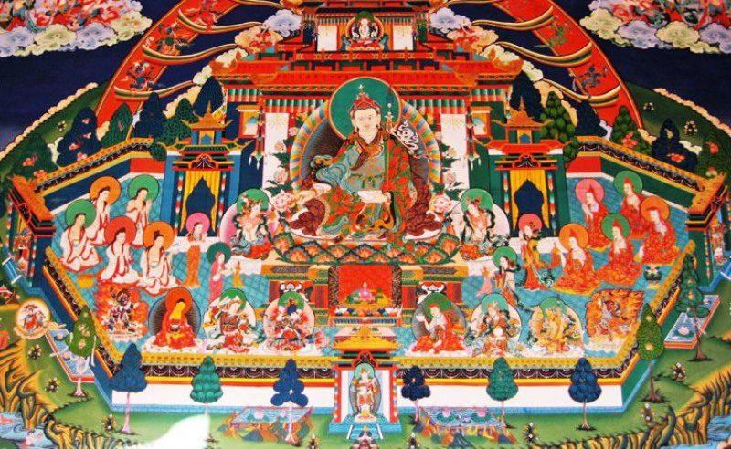Mural_Painting,_Bhutan