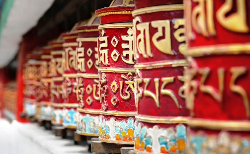 Prayer Wheels, Thimphu