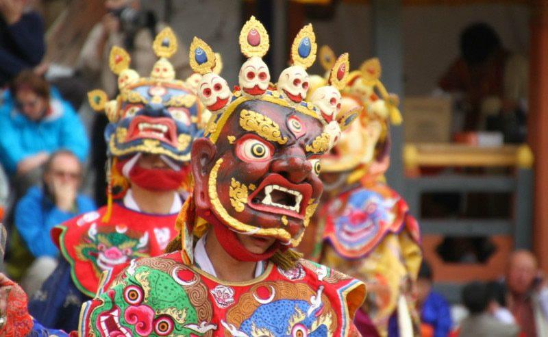 Thimphu Tshechu Festival1