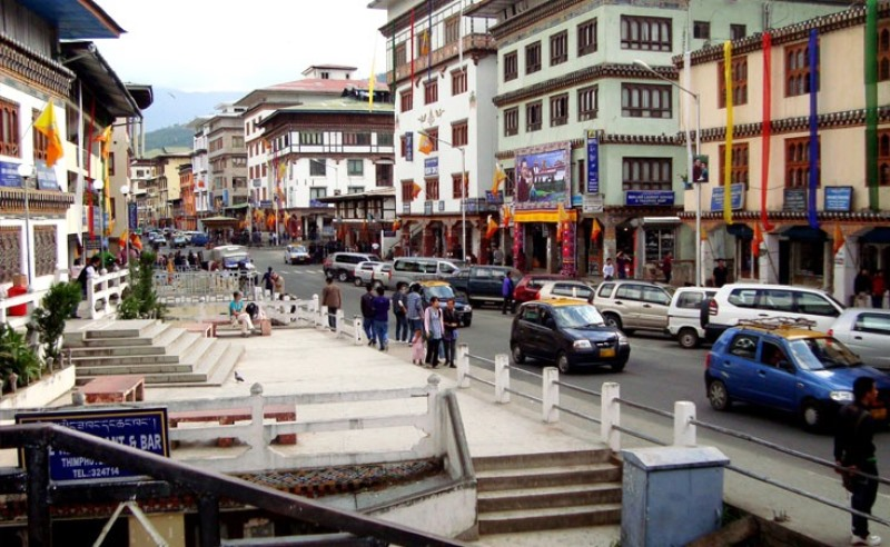 Thimphu, Bhutans capital city