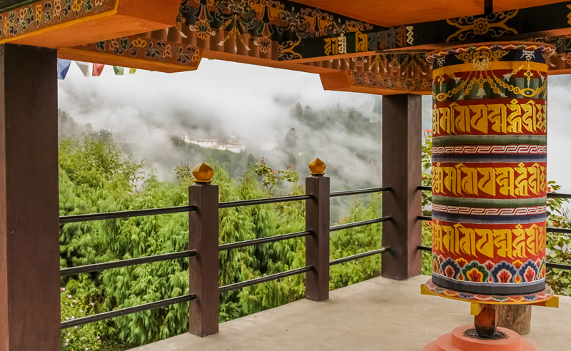 buddhist-prayer-wheel-in-a-temple-bumthang-bhutan