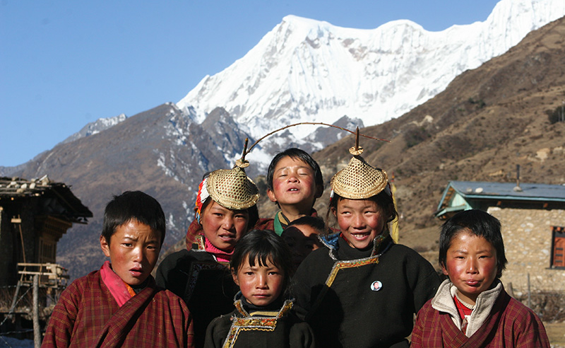 children in laya