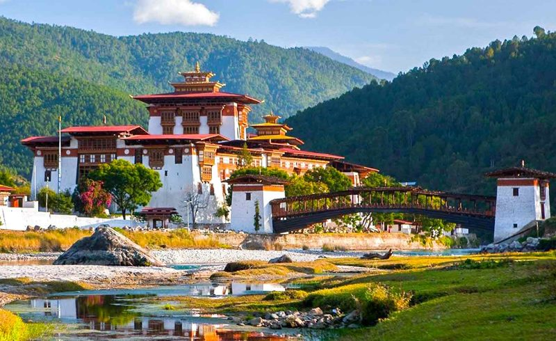 Punakha Dzong, Punakha, Bhutan.